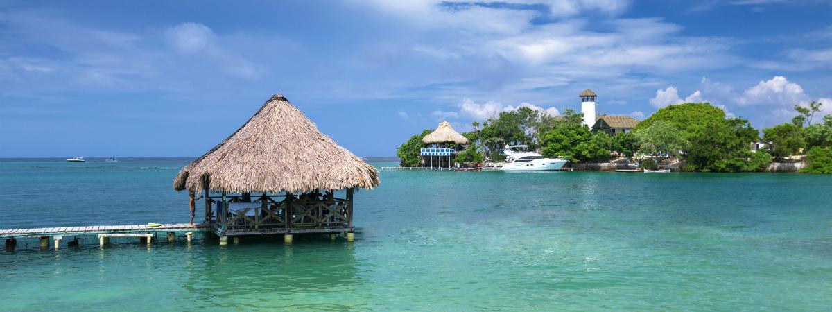 La Isla Rosario es uno de los principales atractivos de Cartagena de Indias