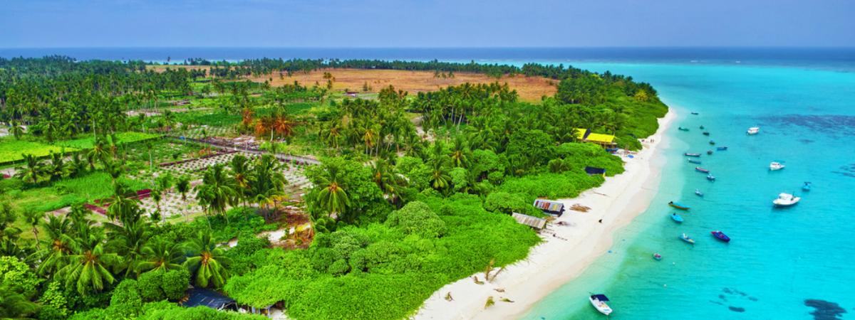 Escápate a una de las playas de Maldivas