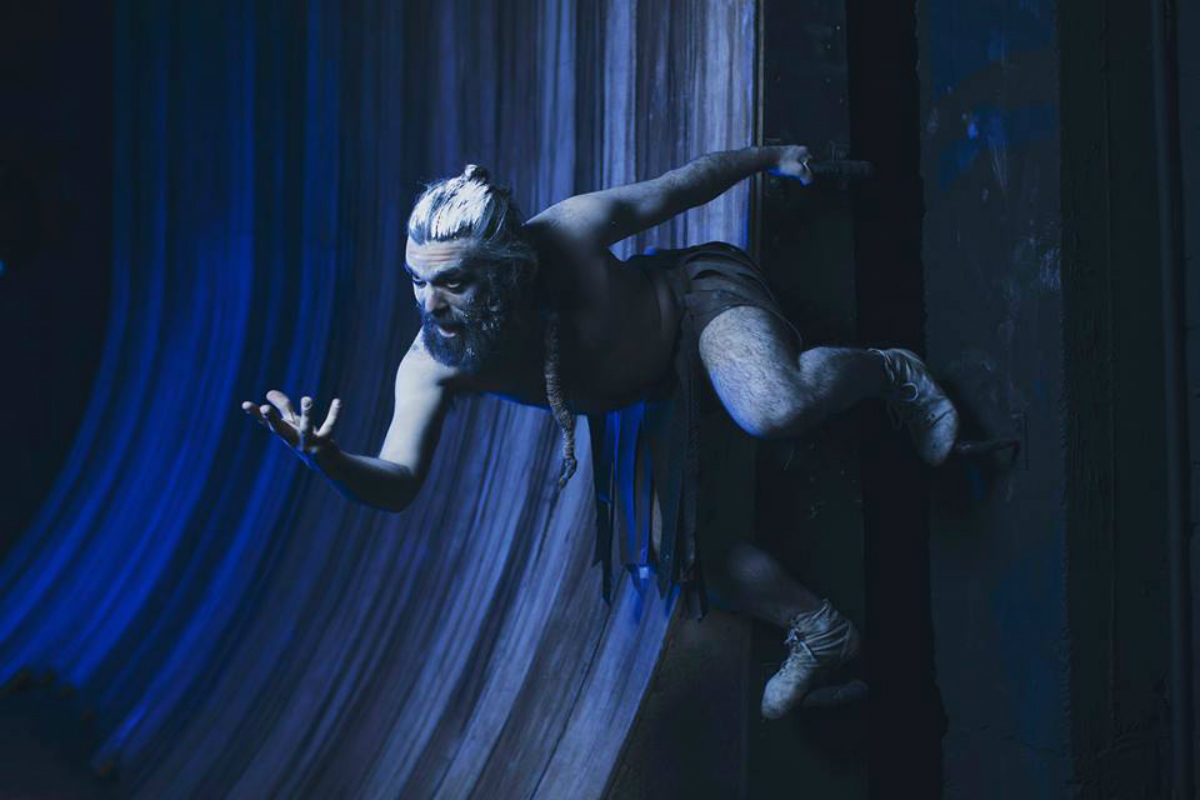 Andrés Salas en su papel de Ariel para La Tempestad - Foto de René Funk