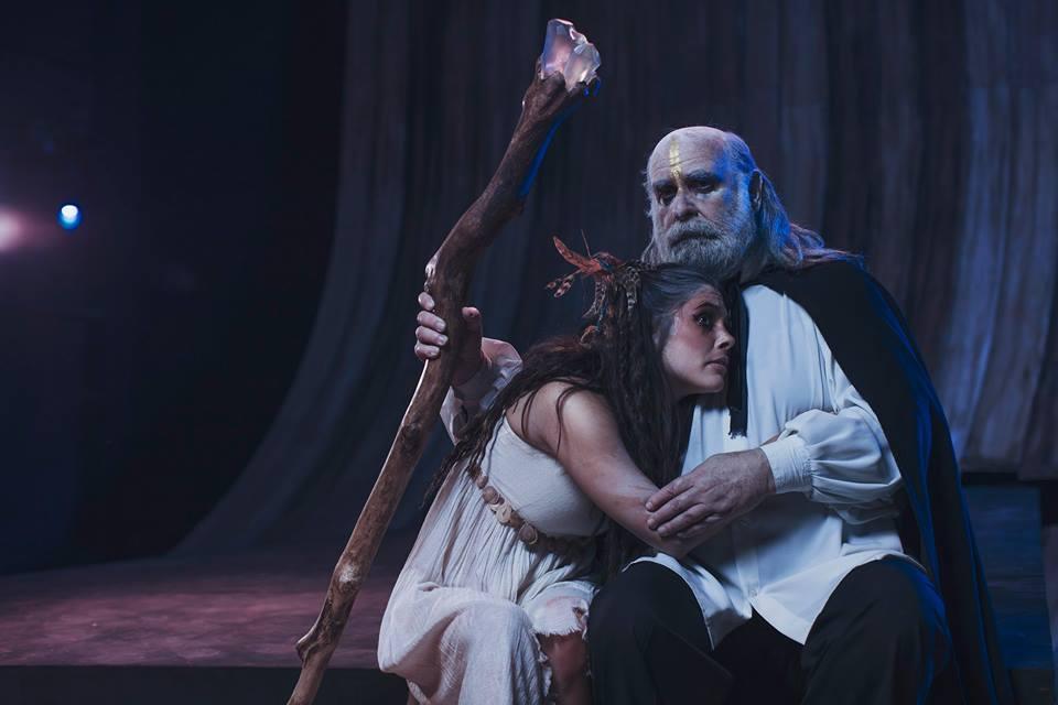 Próspero y Miranda, personajes de La Tempestad - Foto de René Funk