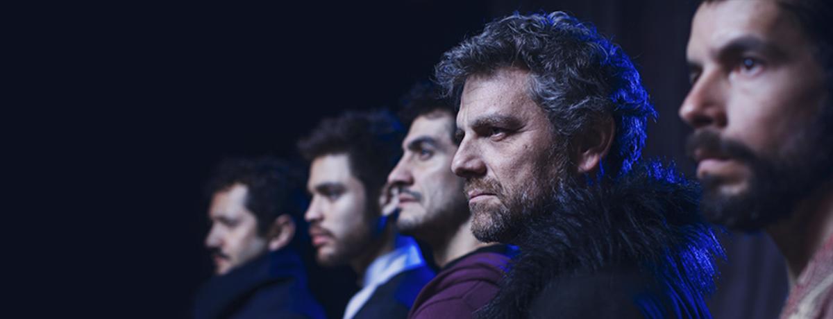Reparto La Tempestad dirigido por Roberto Ángeles - Foto de René Funk