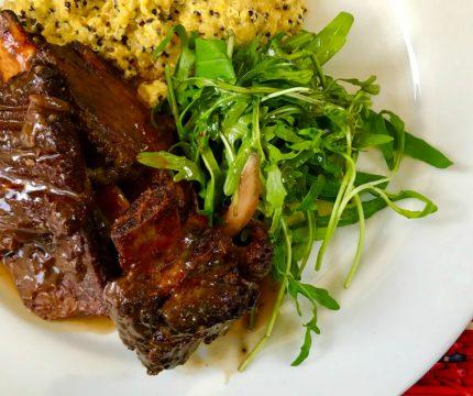 Malaya al horno en Restaurante Pachapapa de Cusco - Najid Soto