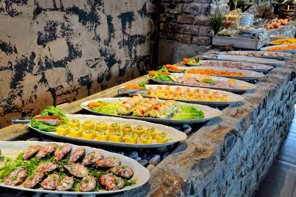 Buffet Criollo Marino de Restaurante Puro Perú