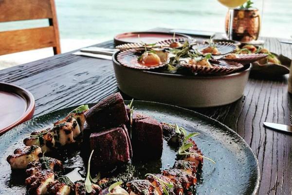 Pulpo al Carbón de Yuk de Restaurante Qincha