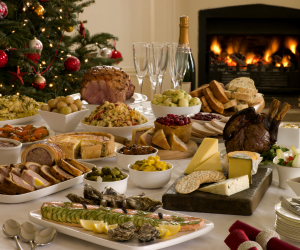 Cena Buffet Navidad.