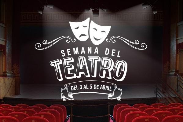 Logo semana del teatro